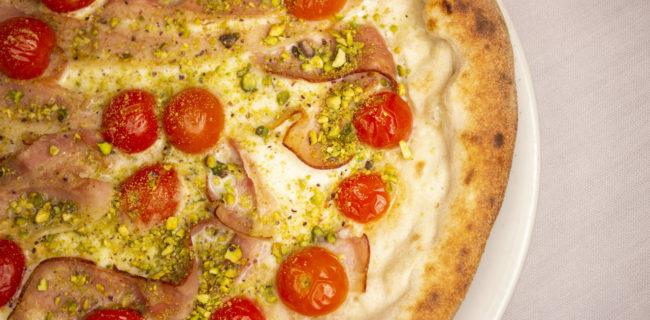 pizza e pistacchio