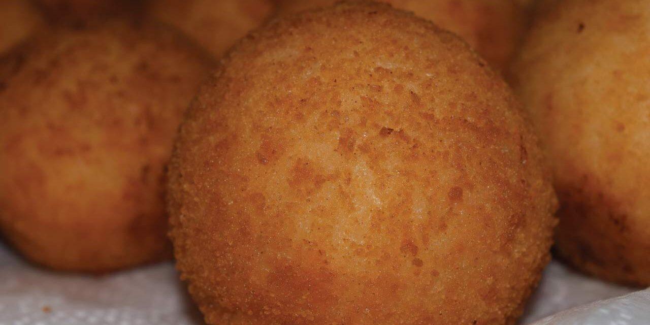 arancina fritta